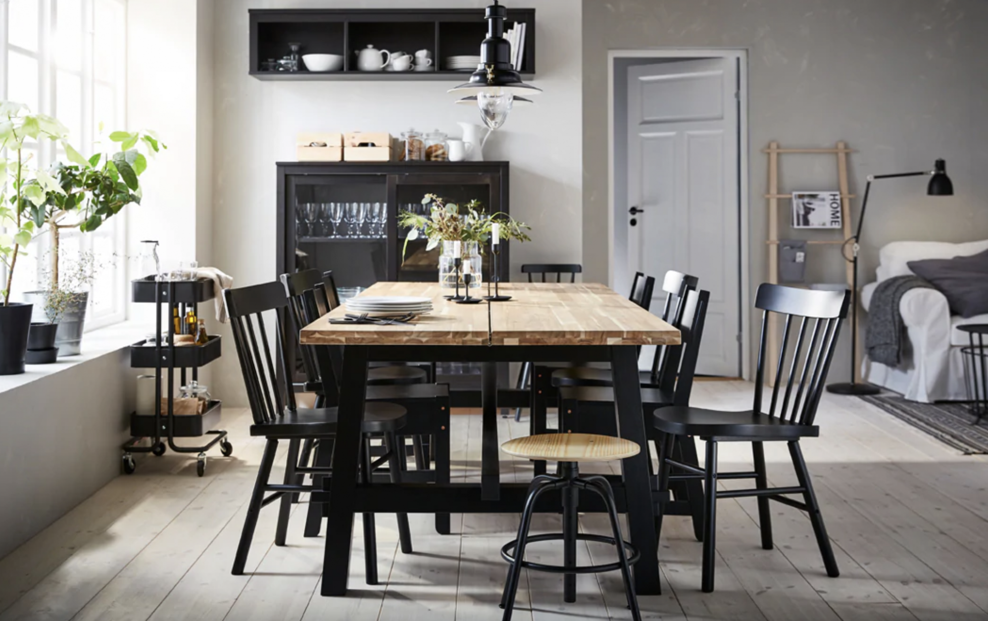 Clever Dining Room Design Ideas to Steal From IKEA  Apartment Therapy - Dining Room Ideas Ikea