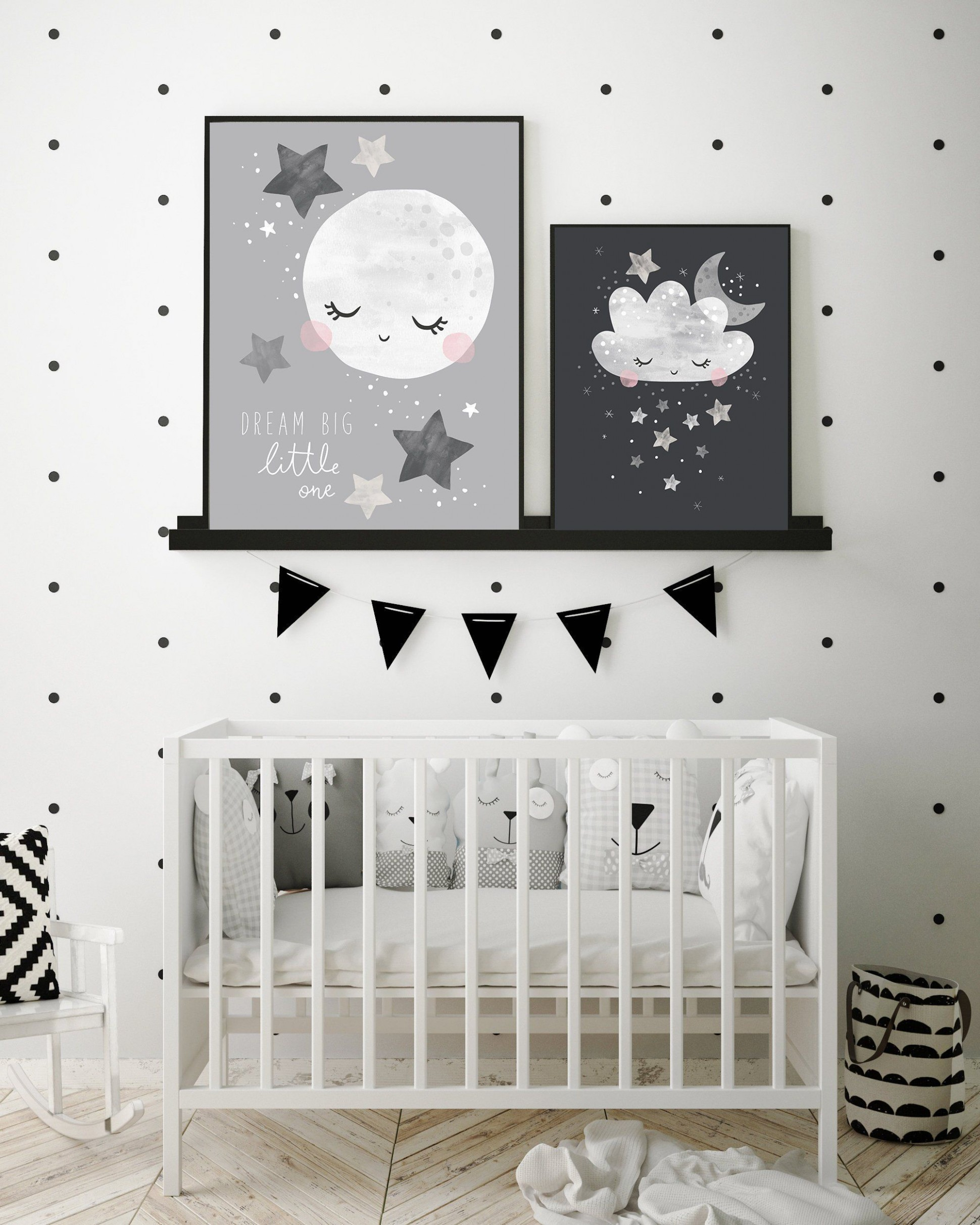 Cloud ideas kid bedroom  Want dreamy inspirations? Go to CIRCU  - Baby Room Wall Art