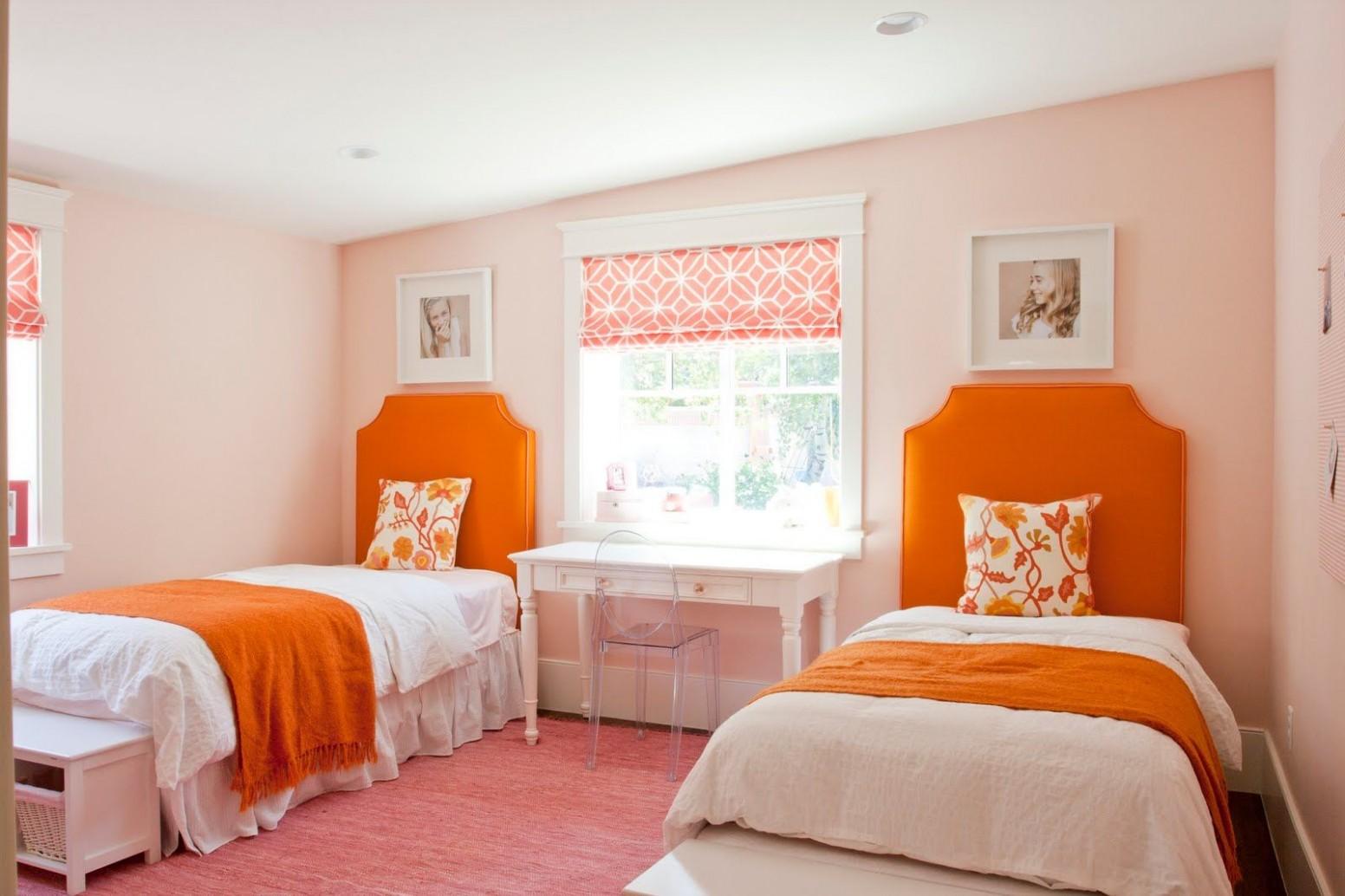 Colors That Make Orange and Compliment Its Tones  Bedroom orange  - Bedroom Ideas Orange