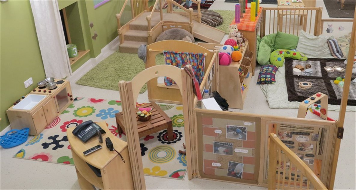 Community Playthings  Bright Beginnings - Leeds University  - Baby Room Leeds
