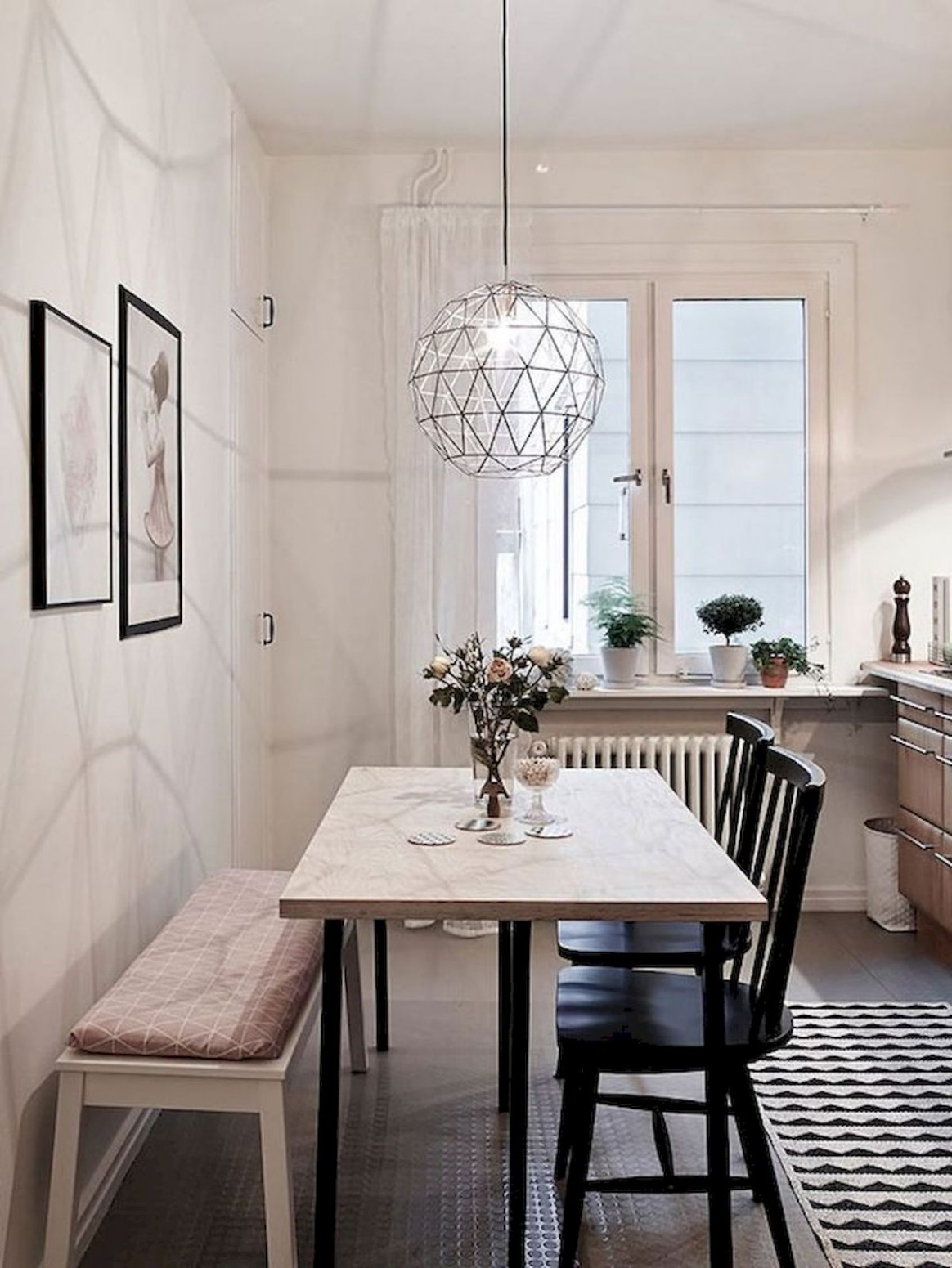 Cool 9 Beautiful Small Dining Room Ideas On A Budget - If you are  - Dining Room Area Ideas