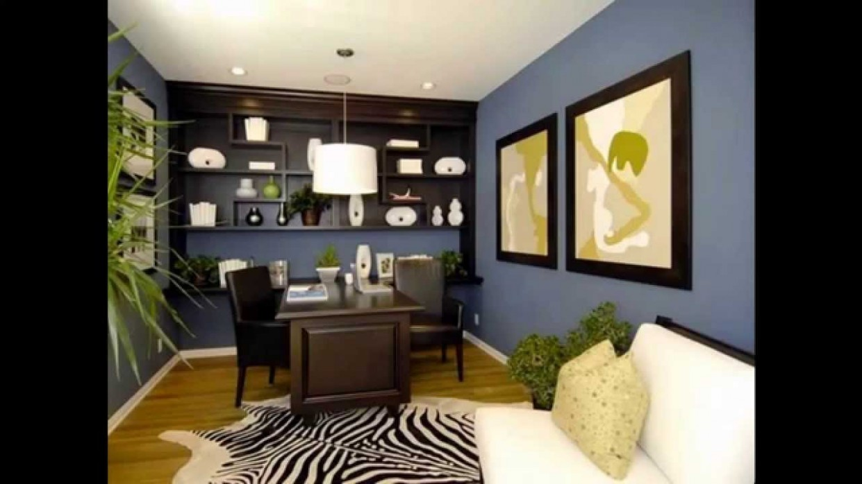 Cool Home office wall color ideas - Home Office Ideas Colors