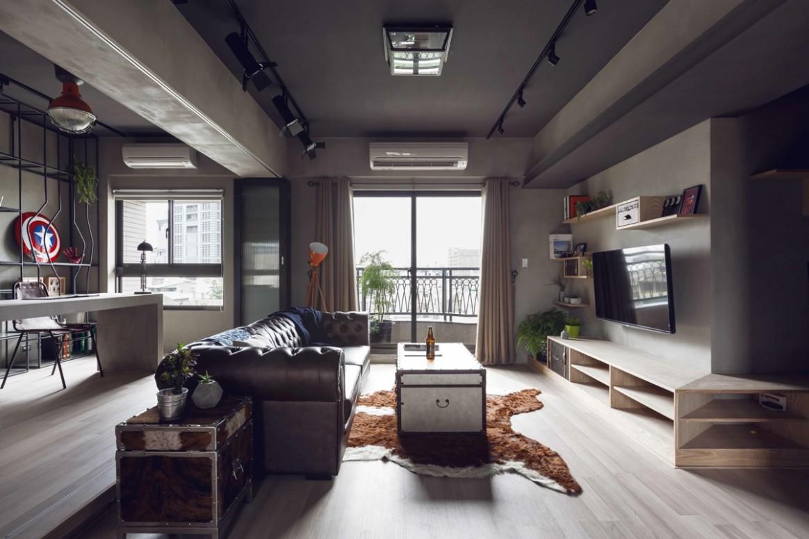 cool-urban-apartmentInterior Design Ideas