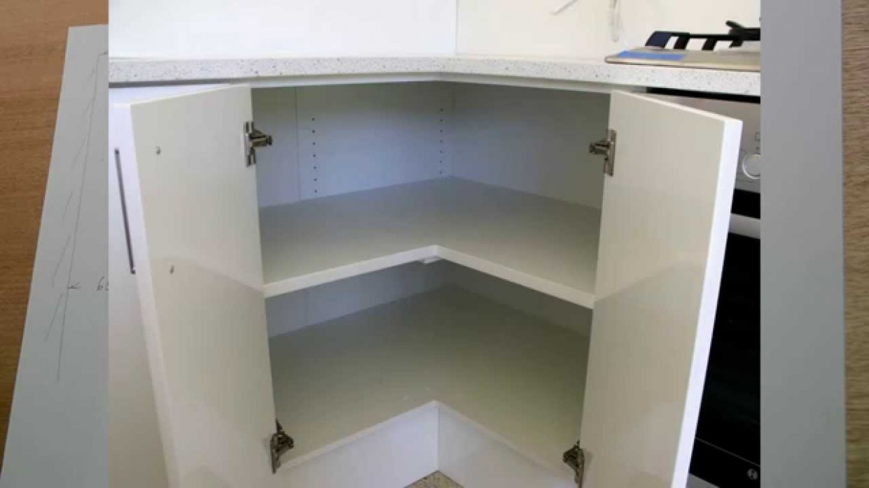 Corner cabinet, problems, and solutions