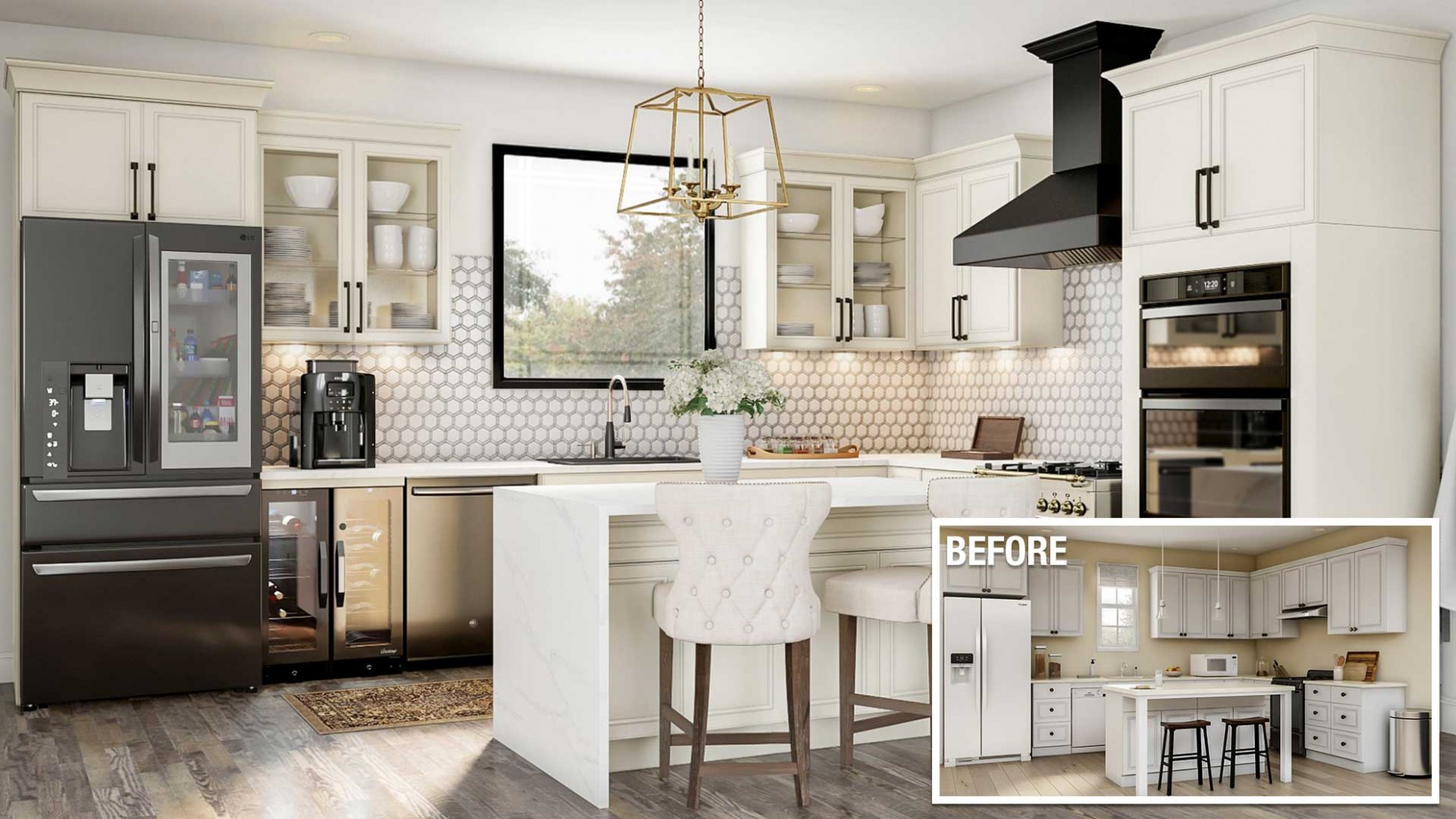 Cost to Remodel a Kitchen - The Home Depot - Cost Upgrade Kitchen Cabinets