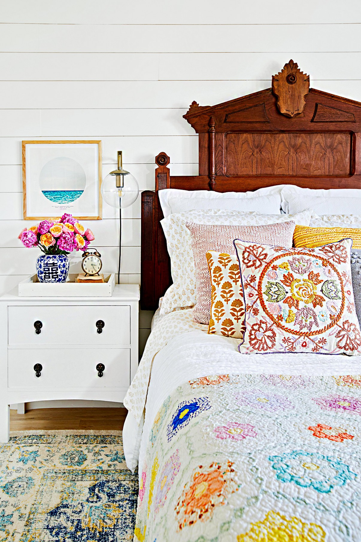 Cozy Up with These Beautiful Bedding Ideas for Every Style  - Master Bedroom Quilt Ideas
