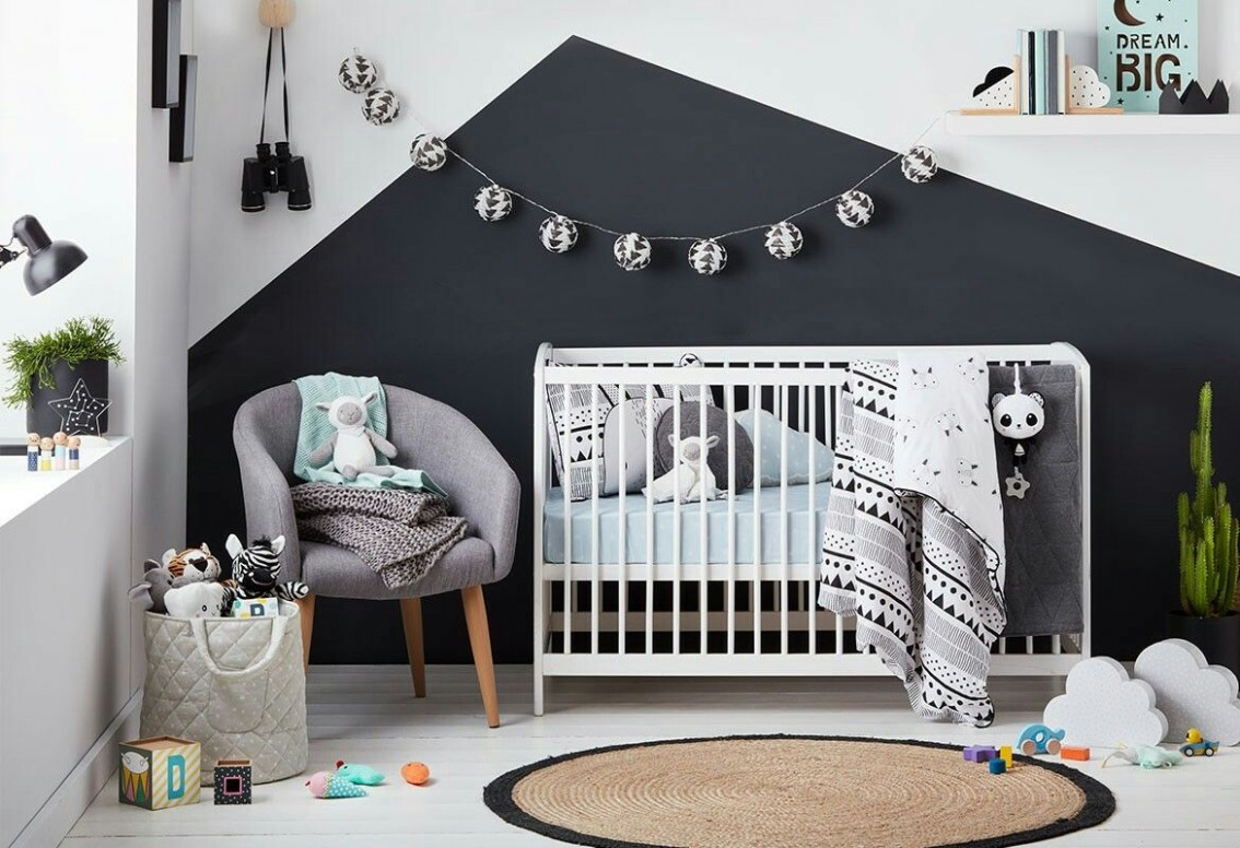 Create a calm modern nursery to love