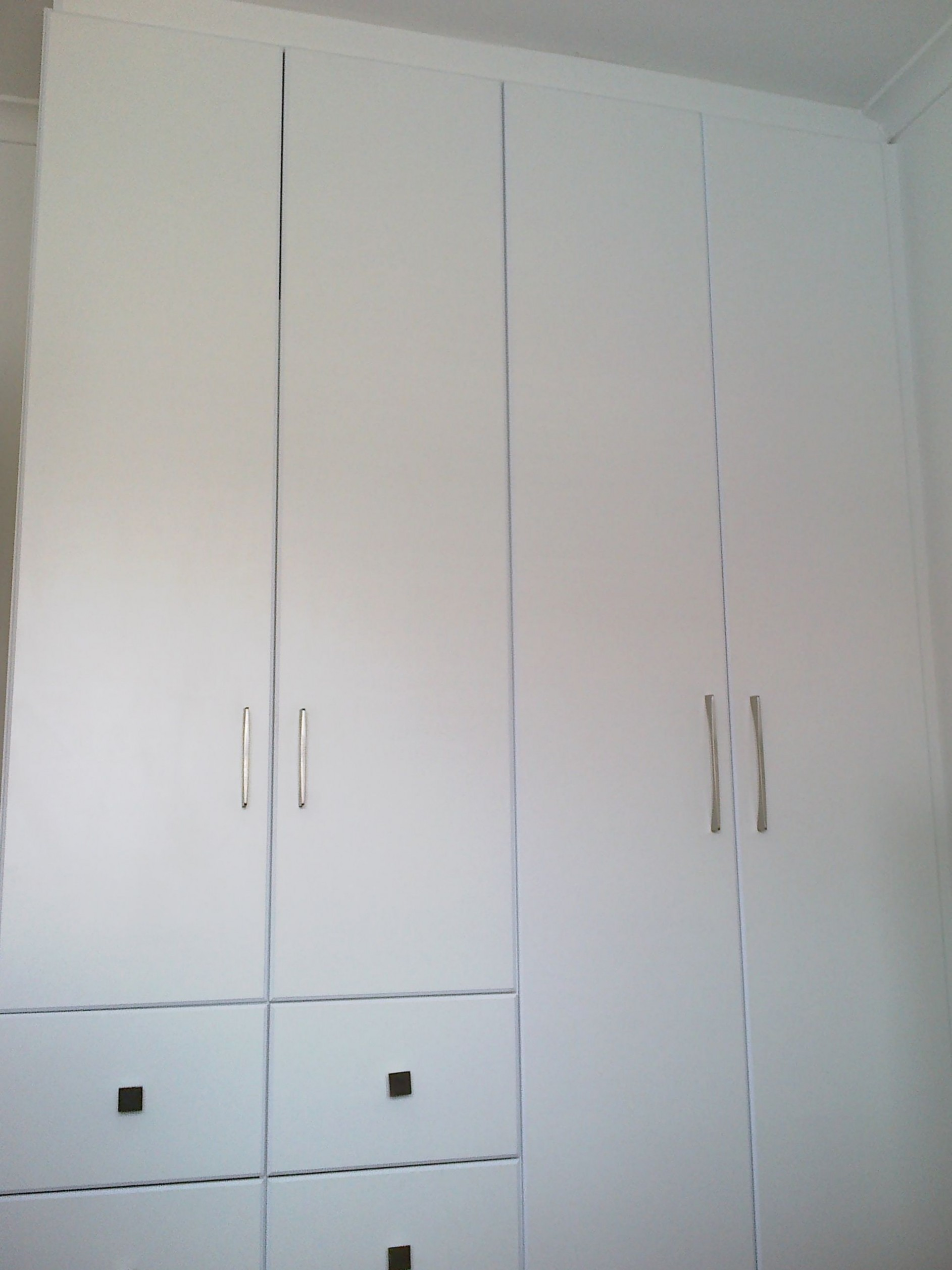 Created by Dimension Cabinets - Four door bedroom cupboard in  - Four Door Kitchen Cabinet