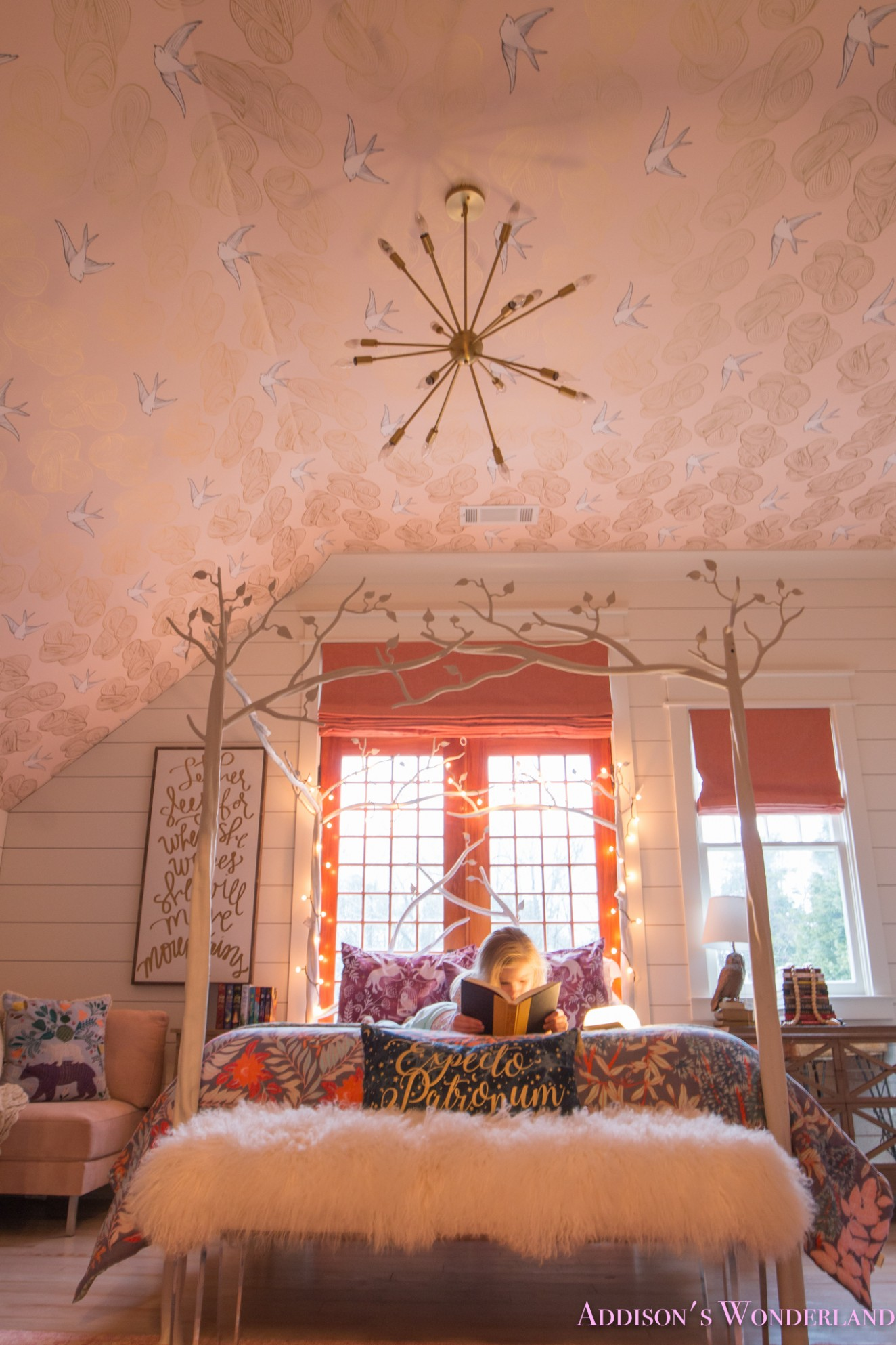 Creating a Beautiful Harry Potter Themed Bedroom for Addison - Bedroom Ideas Harry Potter