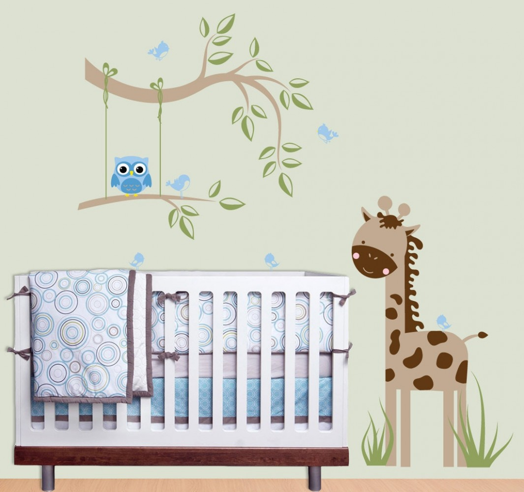 Creative Ideas Baby Room Wall Art Fascinating Design Decoration  - Wall Decor Ideas Baby Room
