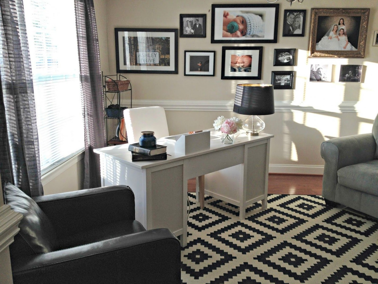Dancing With Ashley  Dining room office, Home office layouts  - Home Office Ideas In Dining Room