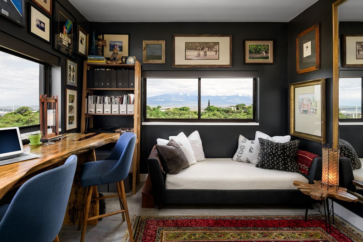 Dark and Sophisticated: Black Home Office Ideas You Will Love - Victorian Home Office Ideas
