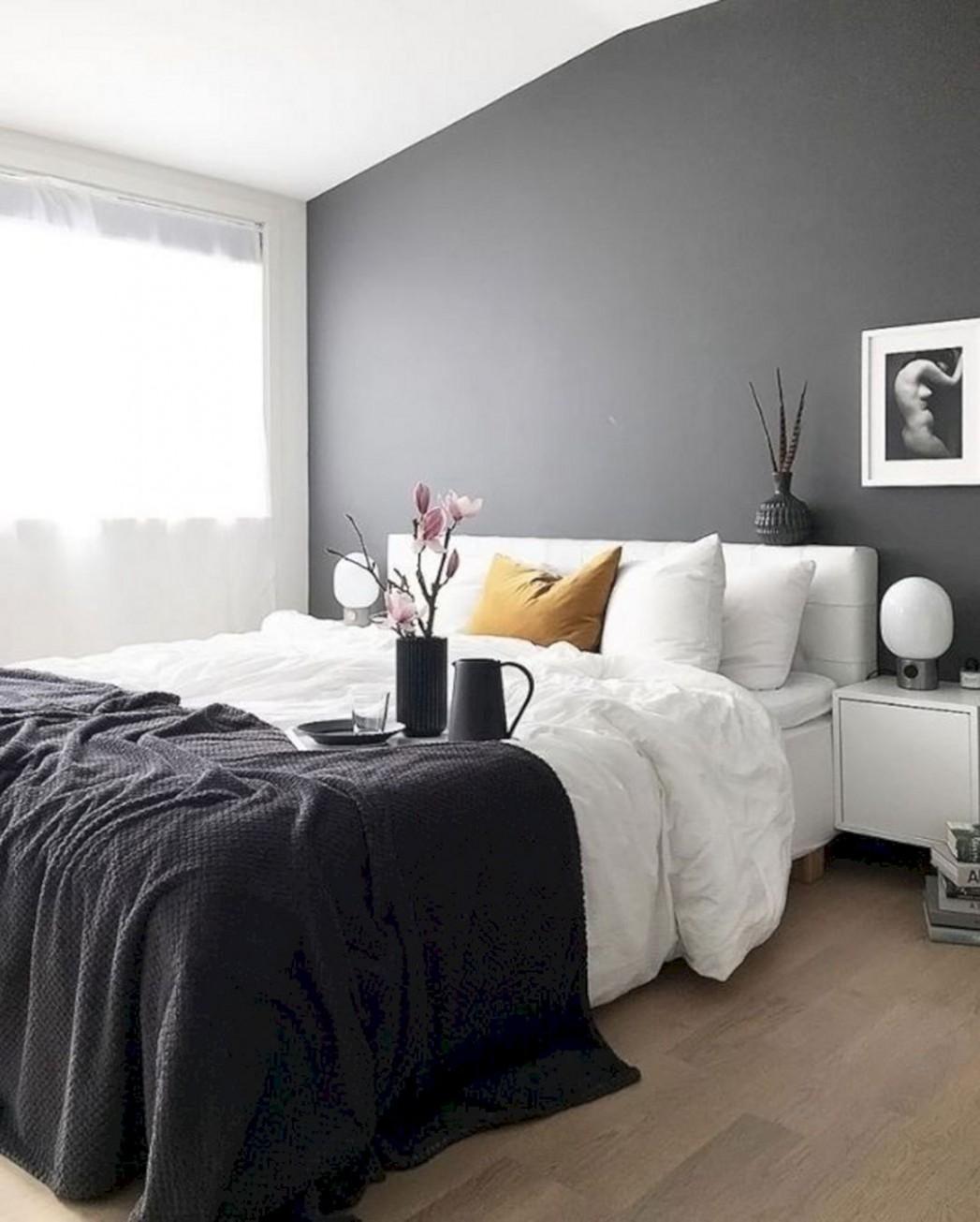 Dark Grey Wall Bedroom Ideas – DECOOR - Bedroom Ideas Dark Grey