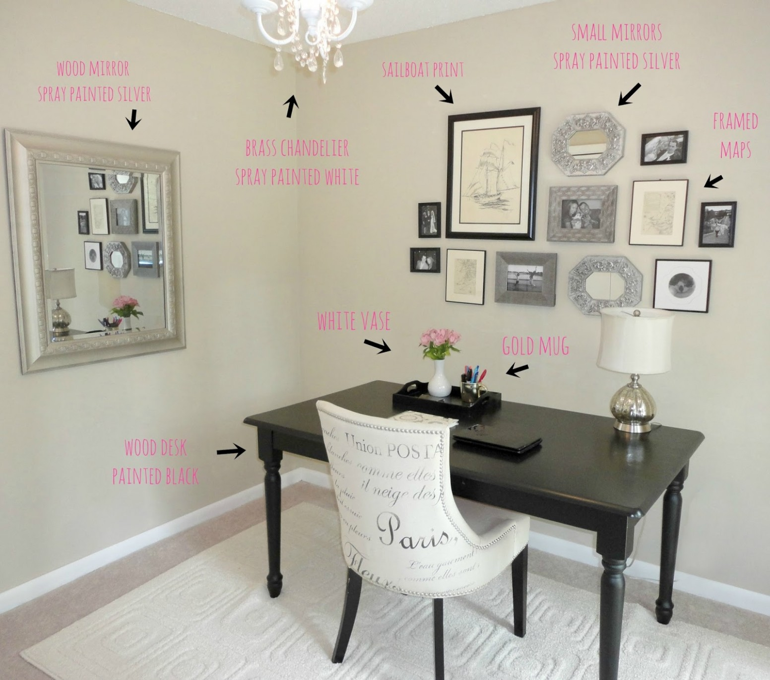 Decorating A Small Office Space With No Windows Design Ideas Your  - Small Home Office Ideas No Windows