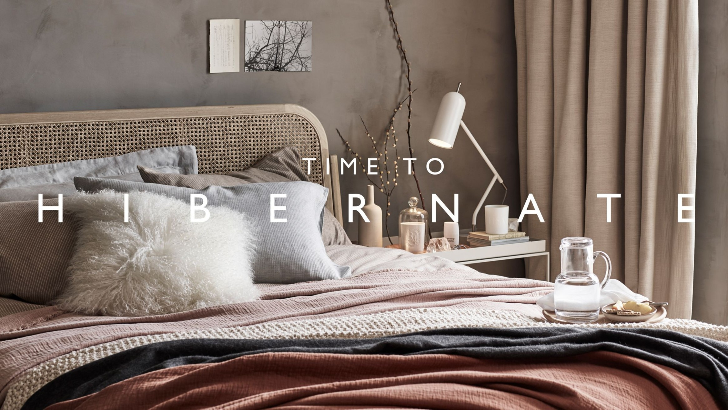 Decorating ideas for a cosy home  John Lewis & Partners - Bedroom Ideas John Lewis
