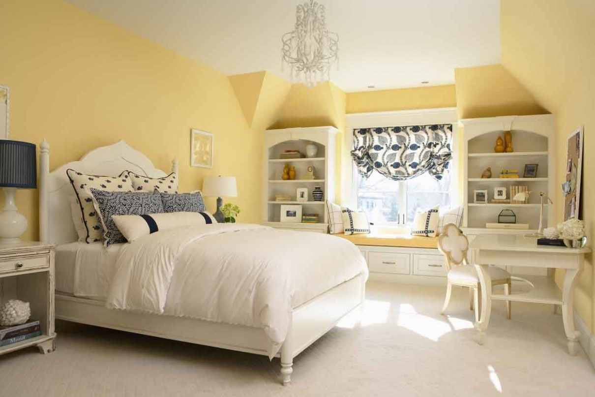 Decorating With Yellow Walls  Yellow bedroom walls, Yellow  - Bedroom Ideas Yellow Walls