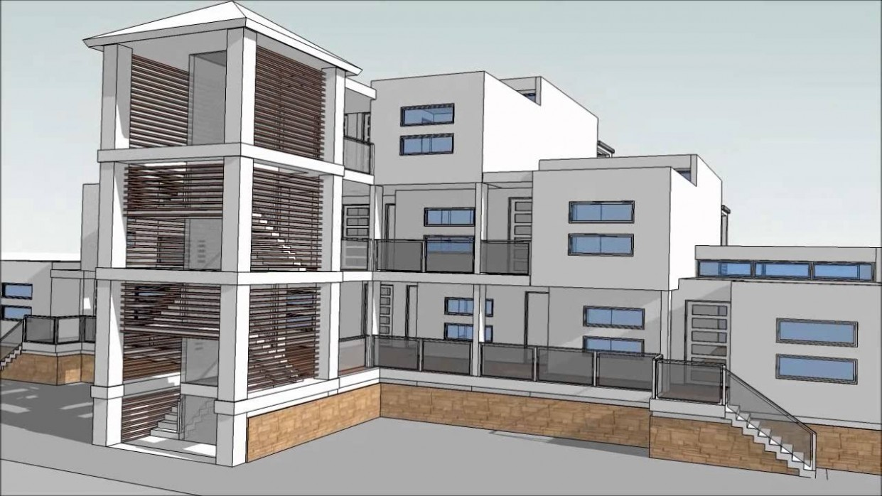 Design an Apartment Building With SketchUp