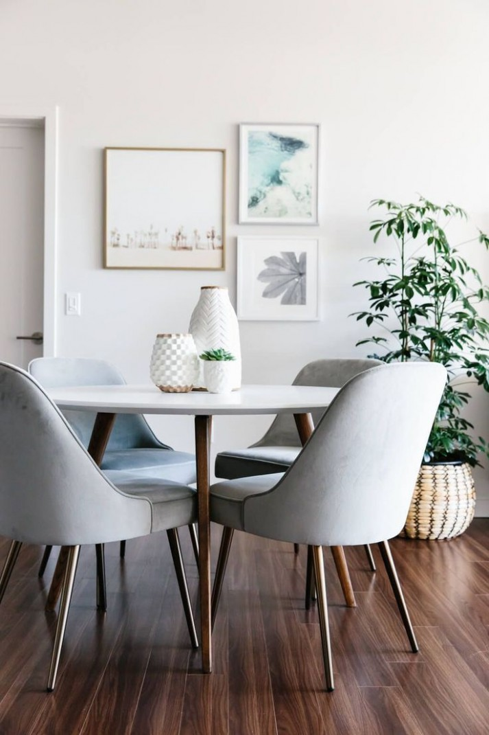 Designing my Modern and Minimalist Living Room with Havenly  - Dining Room Ideas Small Spaces Pinterest