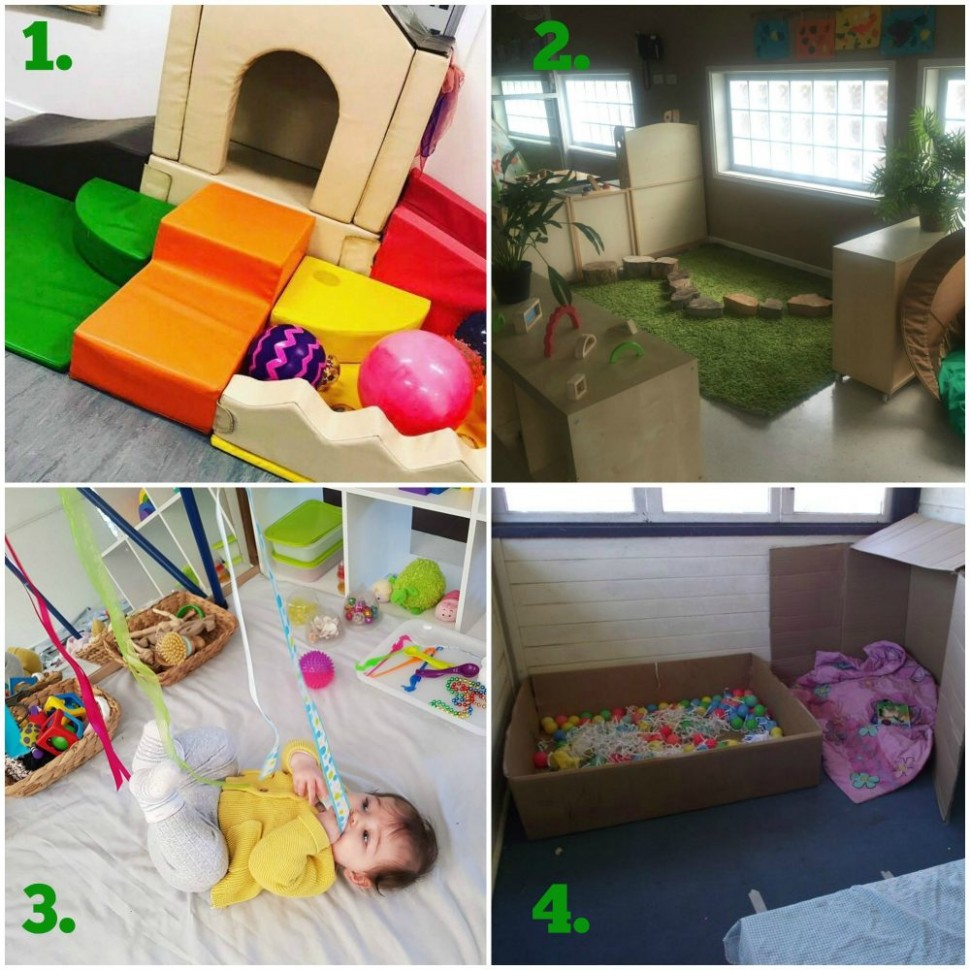 Designing playful learning spaces for babies and toddlers