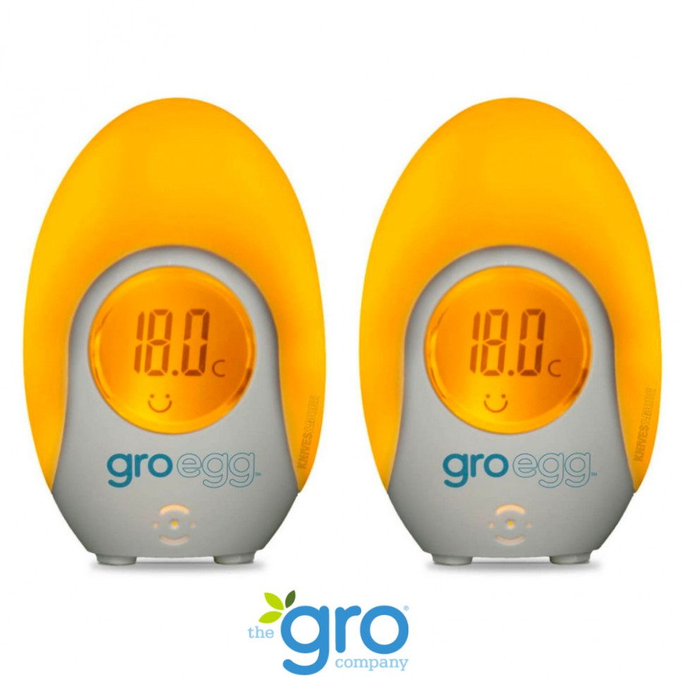 Details about 10 PACK GRO EGG BABY ROOM DIGITAL THERMOMETER + NIGHT LIGHT  ROOM TEMPERATURE - Baby Room Thermometer