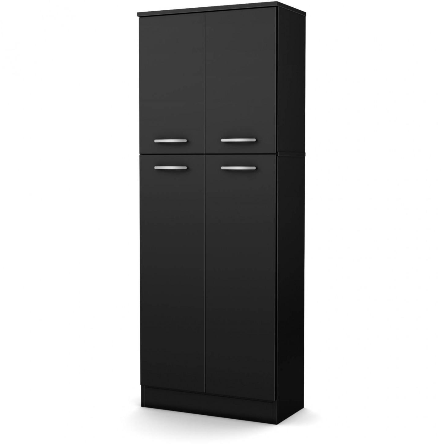 Details about Kitchen Pantry Storage Cabinet Tall 11-Shelf 11-Door Food  Organizer Wood Cupboard - Four Door Kitchen Cabinet