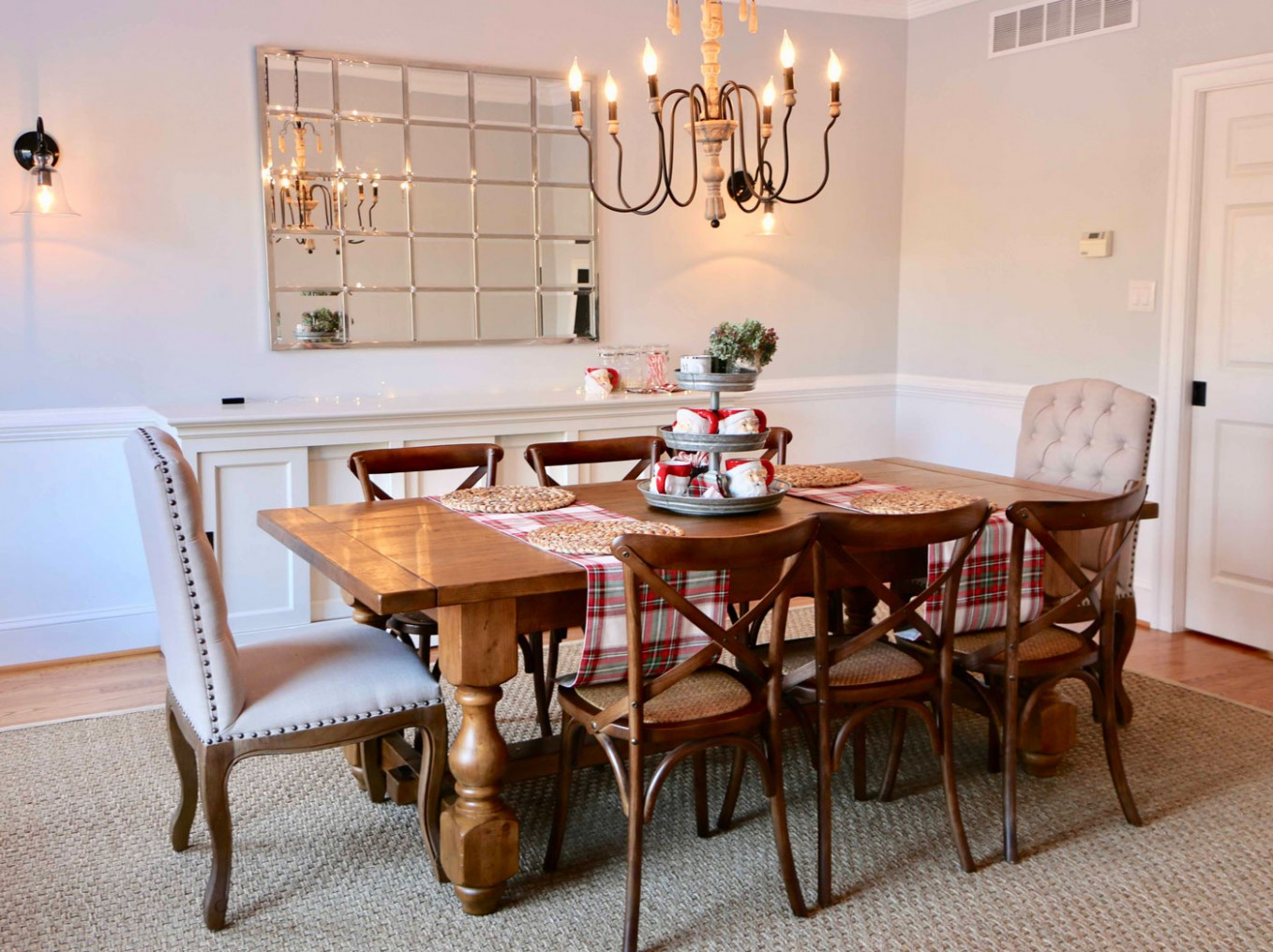 Dining Room Decor – Christmas Style - Dining Room Ideas Pottery Barn