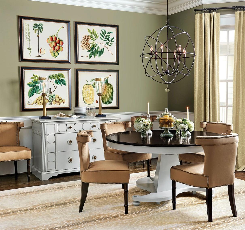 Dining room decorating ideas  Green dining room, Dining room wall  - Dining Room Ideas Green