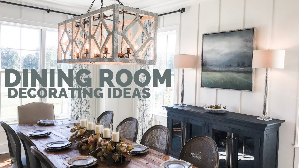 Dining Room Decorating IdeasDining Room Design - Dining Room Update Ideas