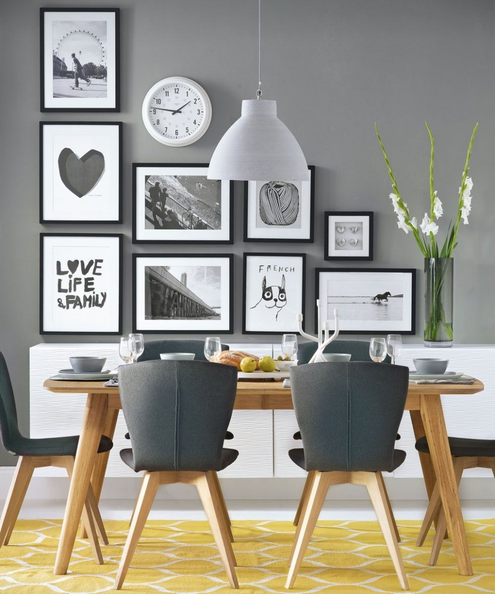 dining room ideas grey walls, dining room ideas with fireplace  - Dining Room Ideas Gray