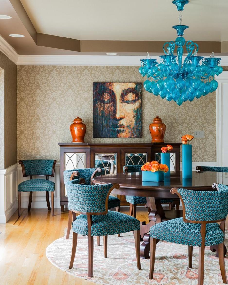 Dining Room Inspiration and Ideas  HGTV - Dining Room Ideas Blue