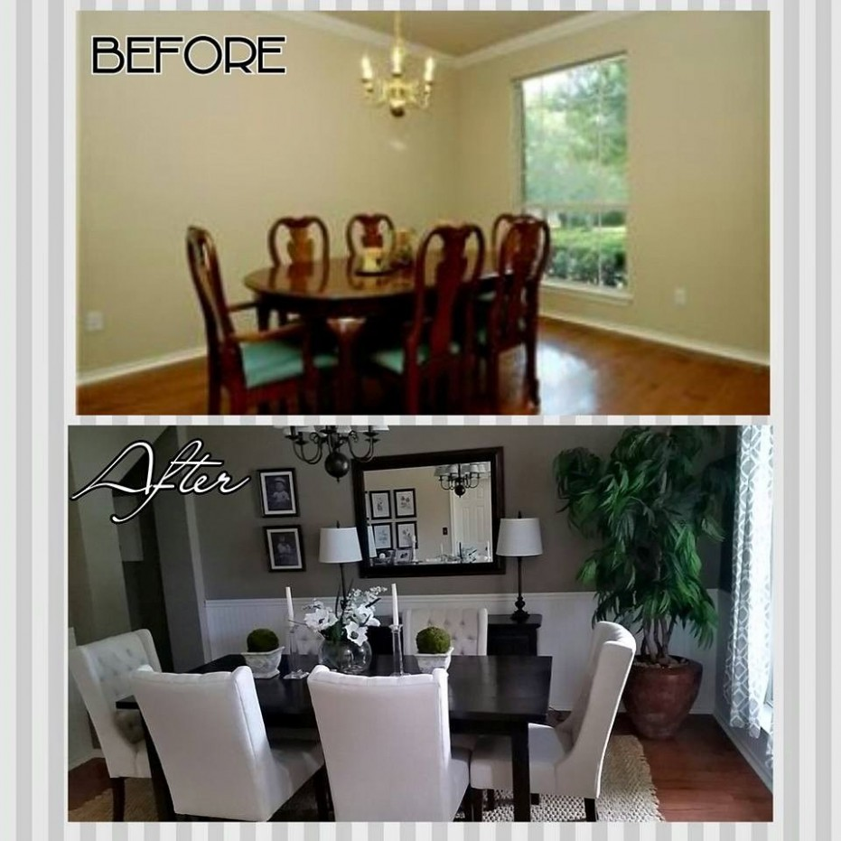 Dining room makeovers, Formal dining rooms and Dining rooms on  - Dining Room Update Ideas