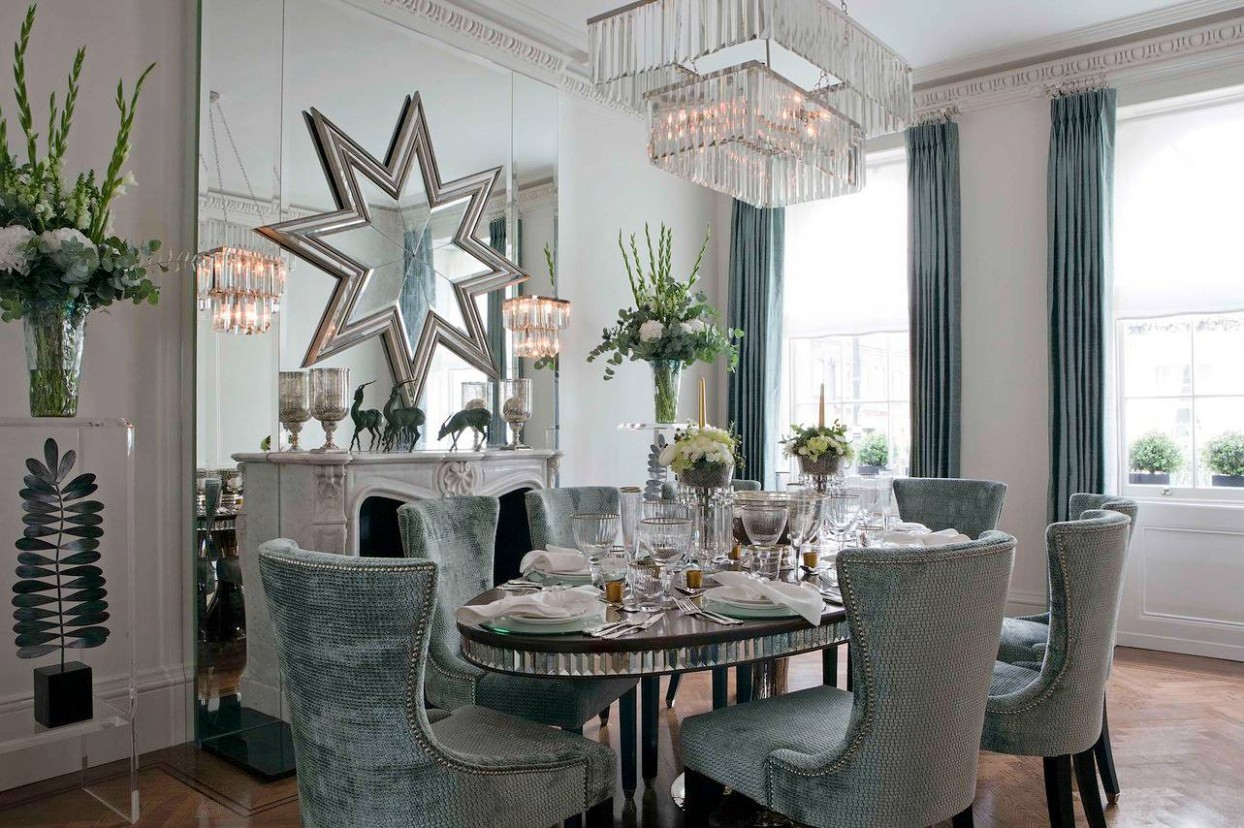Dining Room Mirrors  Houzz - Dining Room Ideas With Mirrors