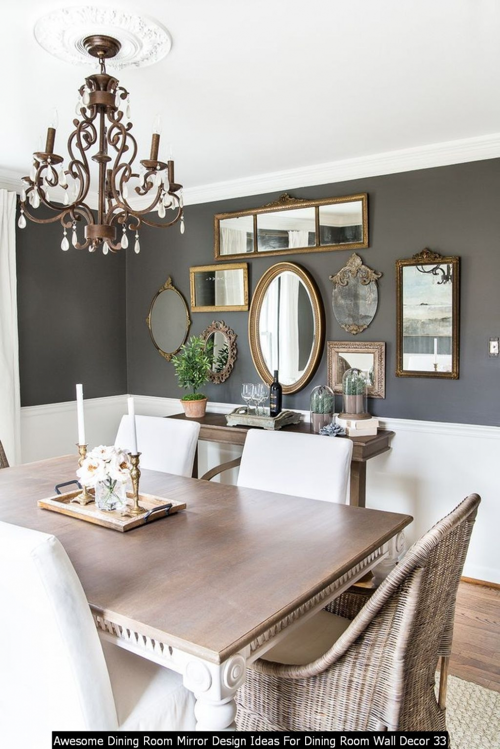 Dining Room Wall Decor Ideas Mirrors 9 Awesome Dining Room Mirror  - Dining Room Ideas With Mirrors