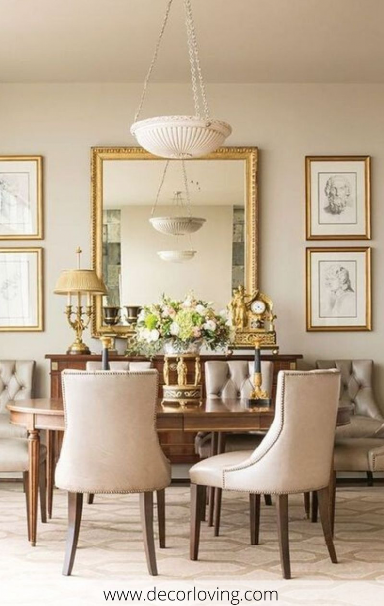 Dining Room Wall Decor Ideas Traditional 12 Breathtaking  - Dining Room Ideas Classic