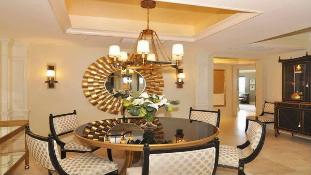 Dining room wall decor ideas with mirror - YouTube - Dining Room Ideas Mirror