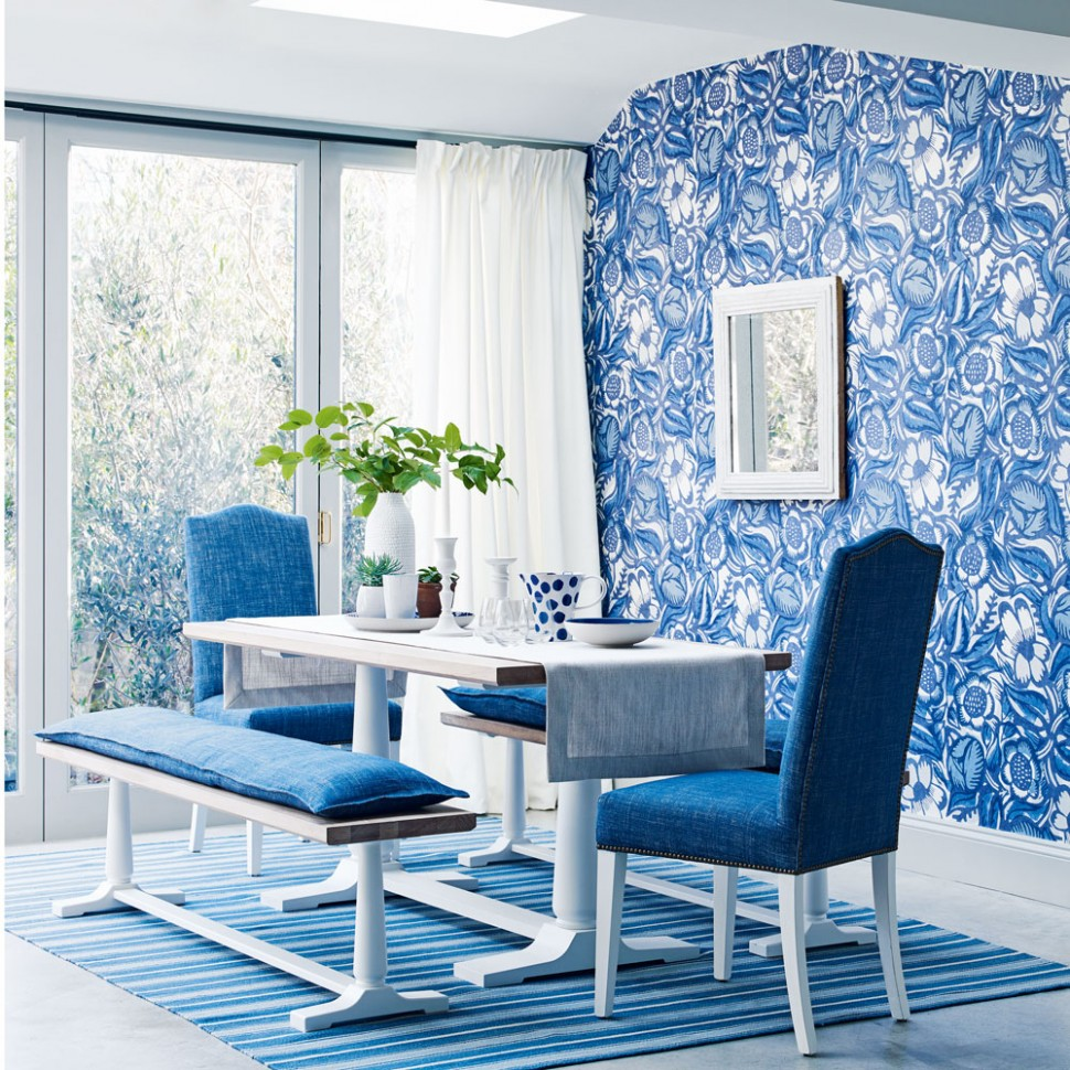 Dining room wallpaper ideas – Dining room with wallpaper - Dining Room Wallpaper Ideas Uk