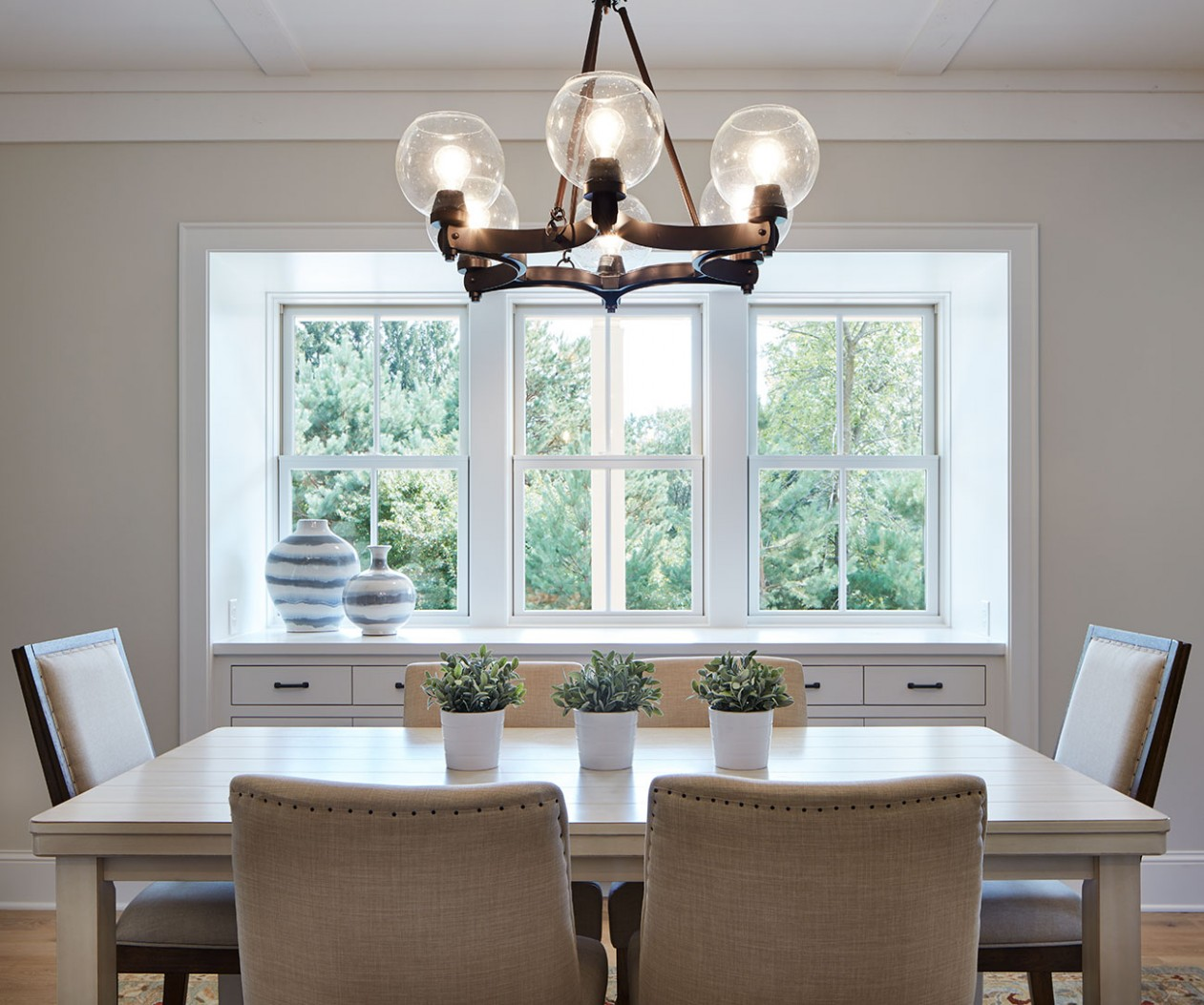 dining-room-windows - Cottage style decorating, renovating and  - Window Ideas For Dining Room