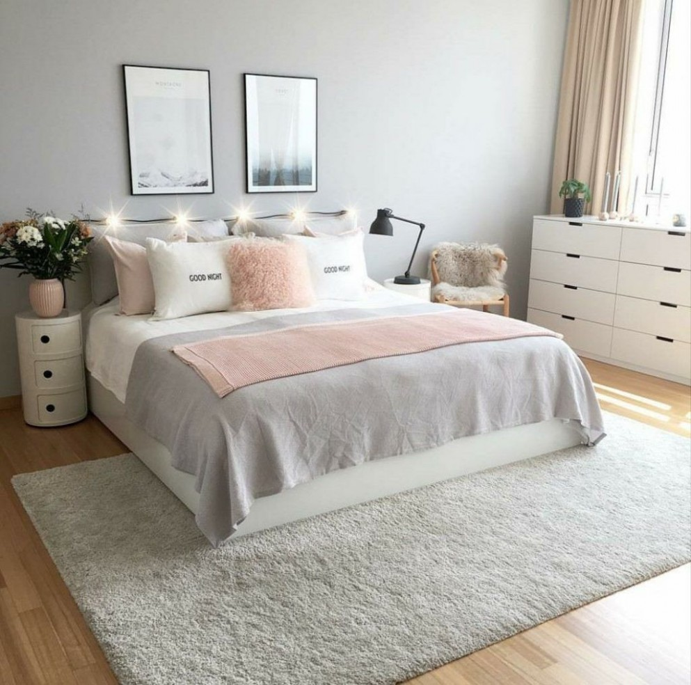 Discover rose gold grey bedroom ideas made easy  Girl bedroom  - Bedroom Ideas Rose Gold And Grey