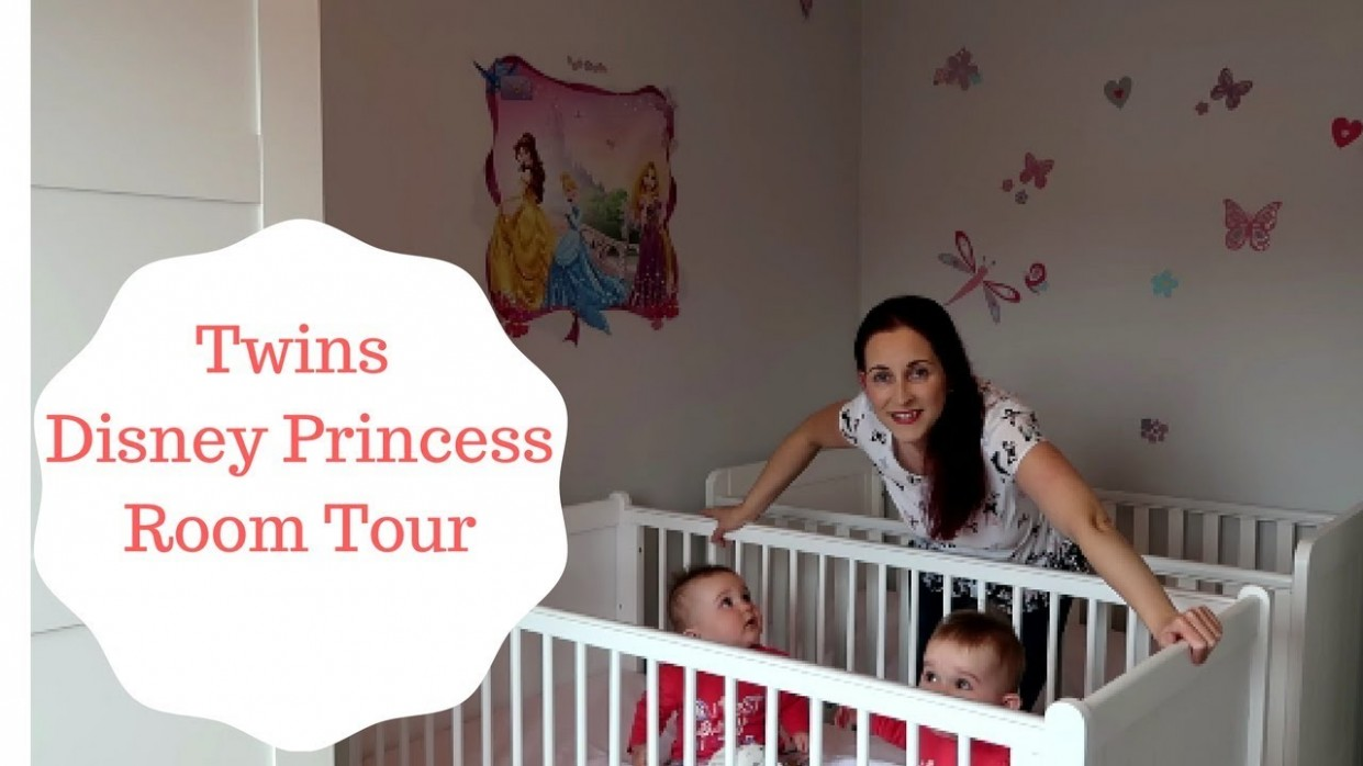 Disney Princess Bedroom Tour - Twin baby girls room - Baby Room Youtube