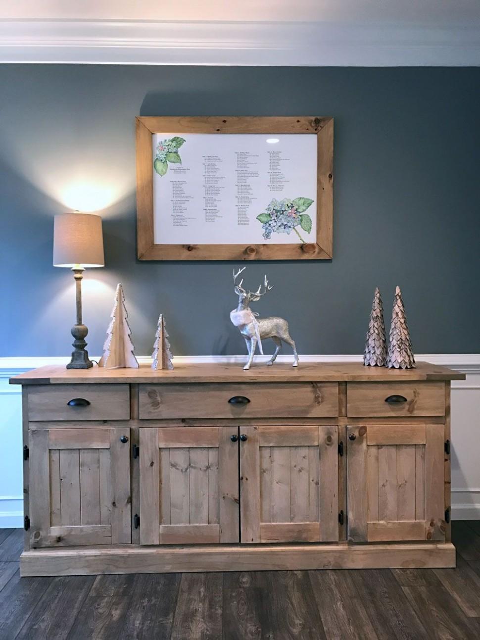 diy dining room sideboard  Dining room buffet, White dining room  - Dining Room Sideboard Ideas