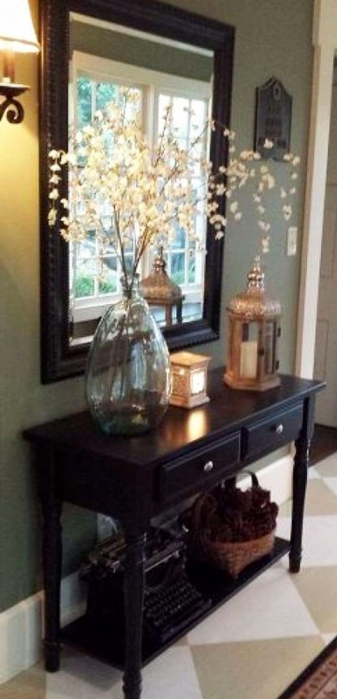 DIY Foyer Decorating Ideas For Small Foyers and Apartment  - Dining Room Entryway Ideas