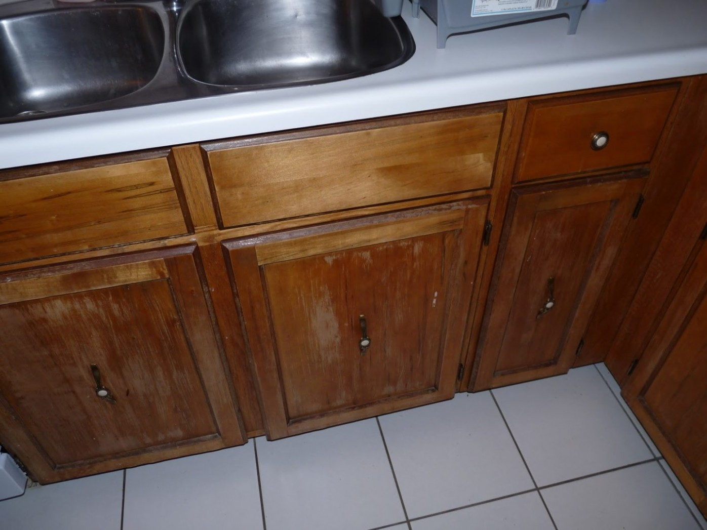 DIY Re-Varnished Cabinet Fronts  How to Restore Kitchen Cabinetry  - How To Clean And Varnish Kitchen Cabinets