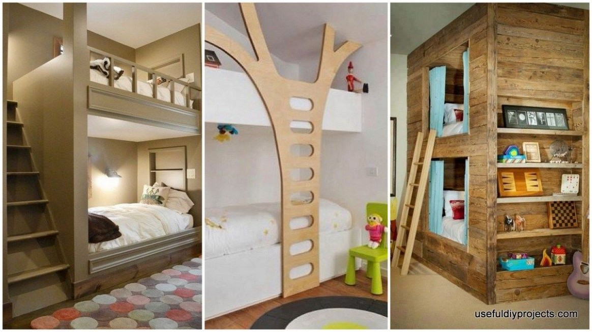 Double Deck Bed Design Make the Most of Your Bedroom  Double deck  - Bedroom Ideas Double Deck