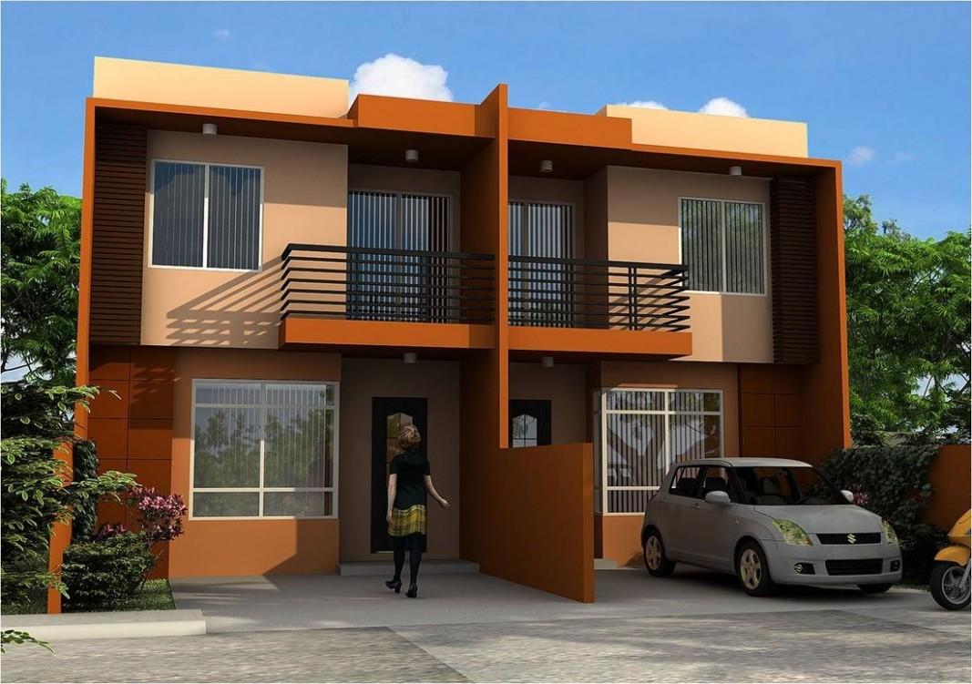 Duplex Apartment Design Philippines   Duplex house design  - Apartment Design In Philippines