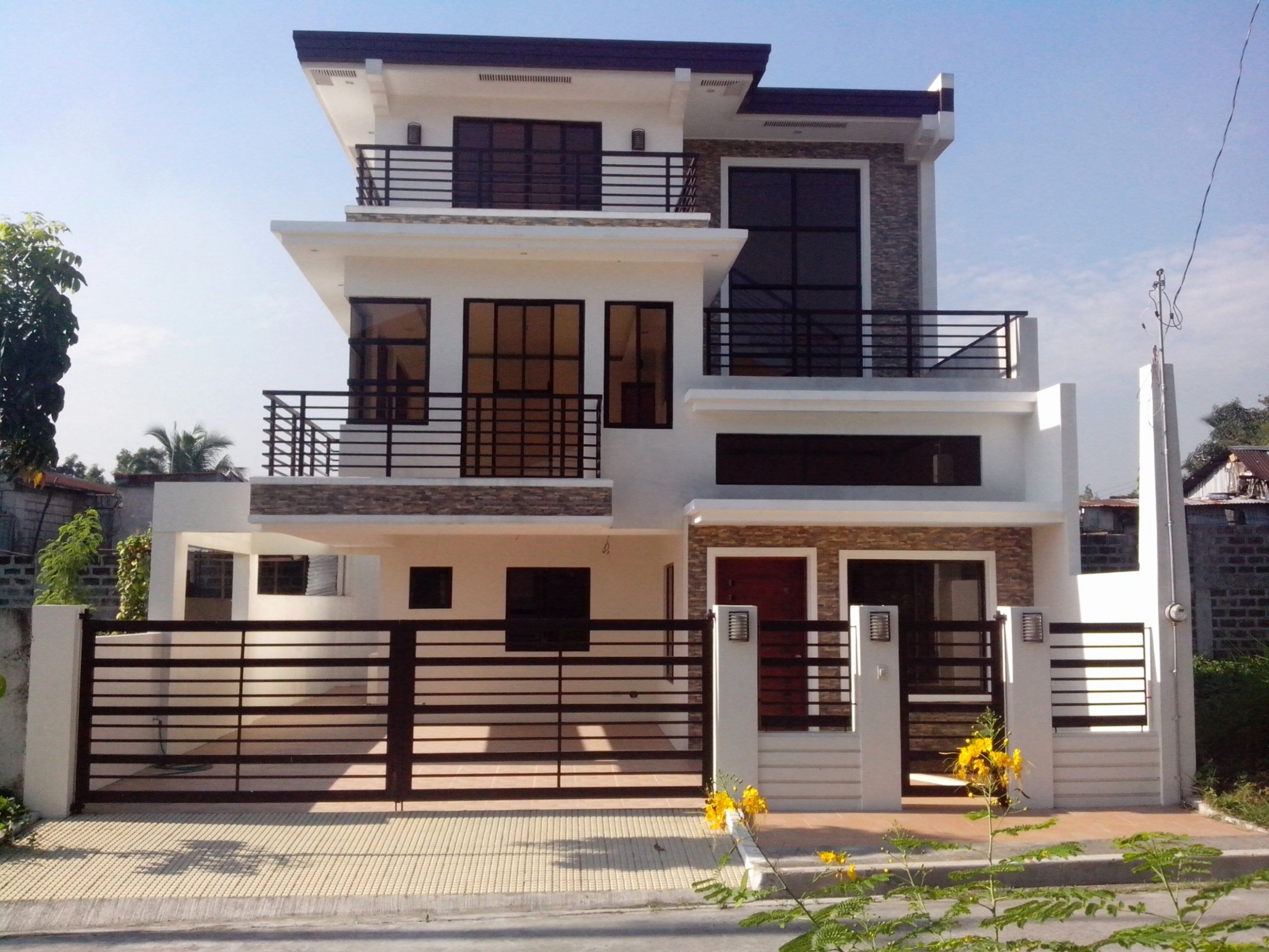 Duplex Apartment Design Philippines   Philippines house design  - Apartment House Design Philippines
