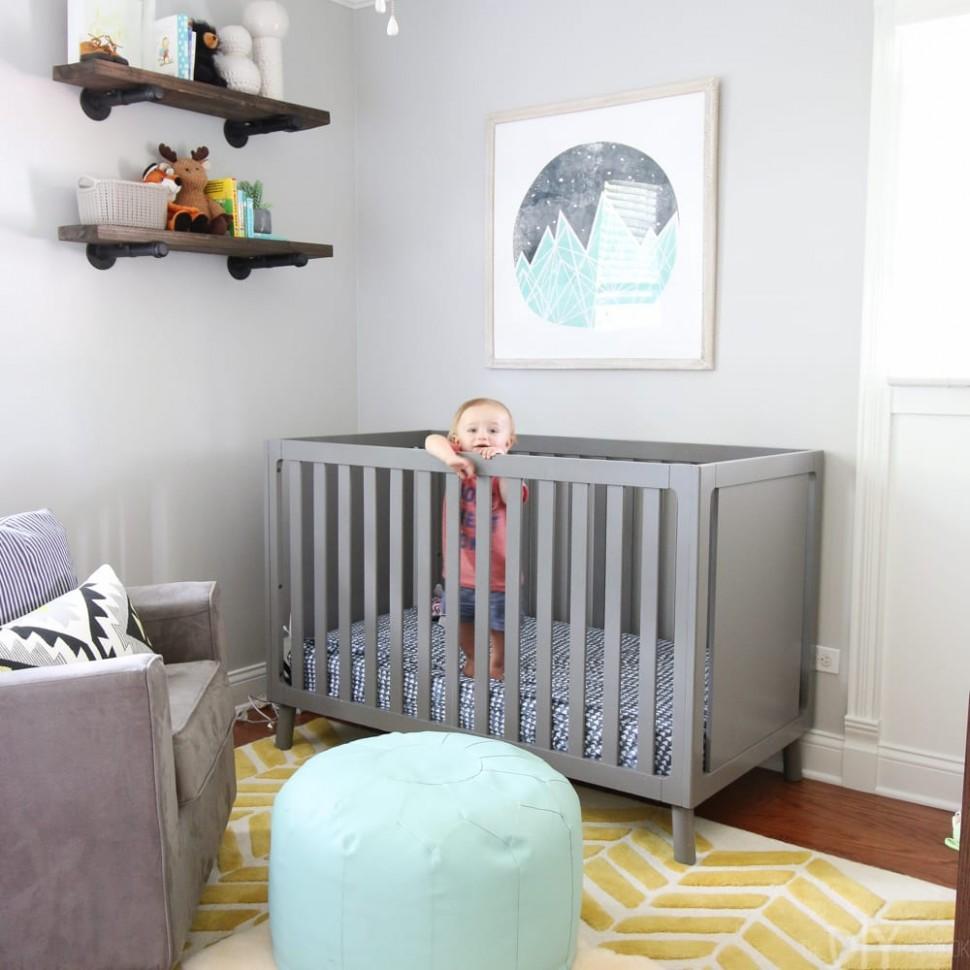 Easy DIY Bookshelves for Under $12 Each  DIY Playbook - Baby Room Shelves