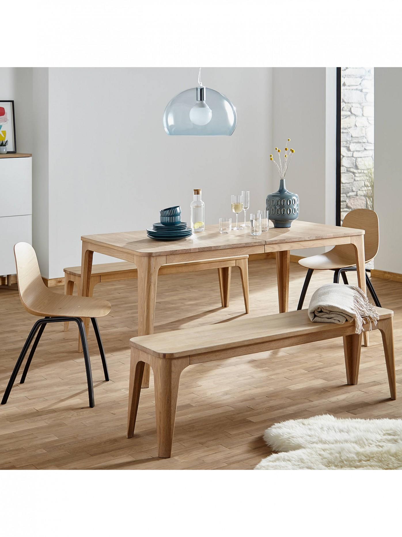 Ebbe Gehl for John Lewis Mira 9-9 Seater Extending Dining Table, Oak - John Lewis Dining Room Ideas