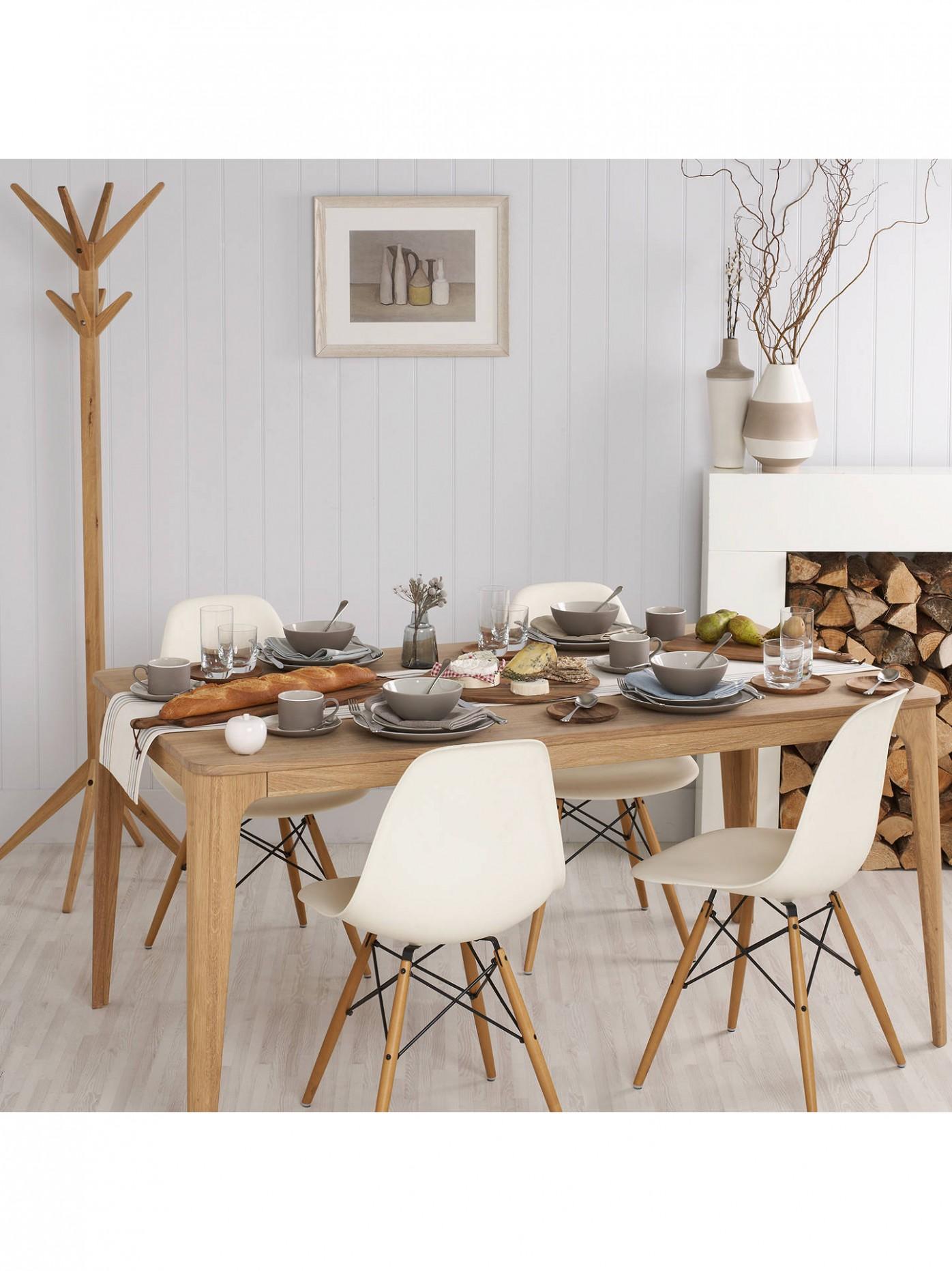 Ebbe Gehl for John Lewis Mira 9 Seater Dining Table, Oak - John Lewis Dining Room Ideas