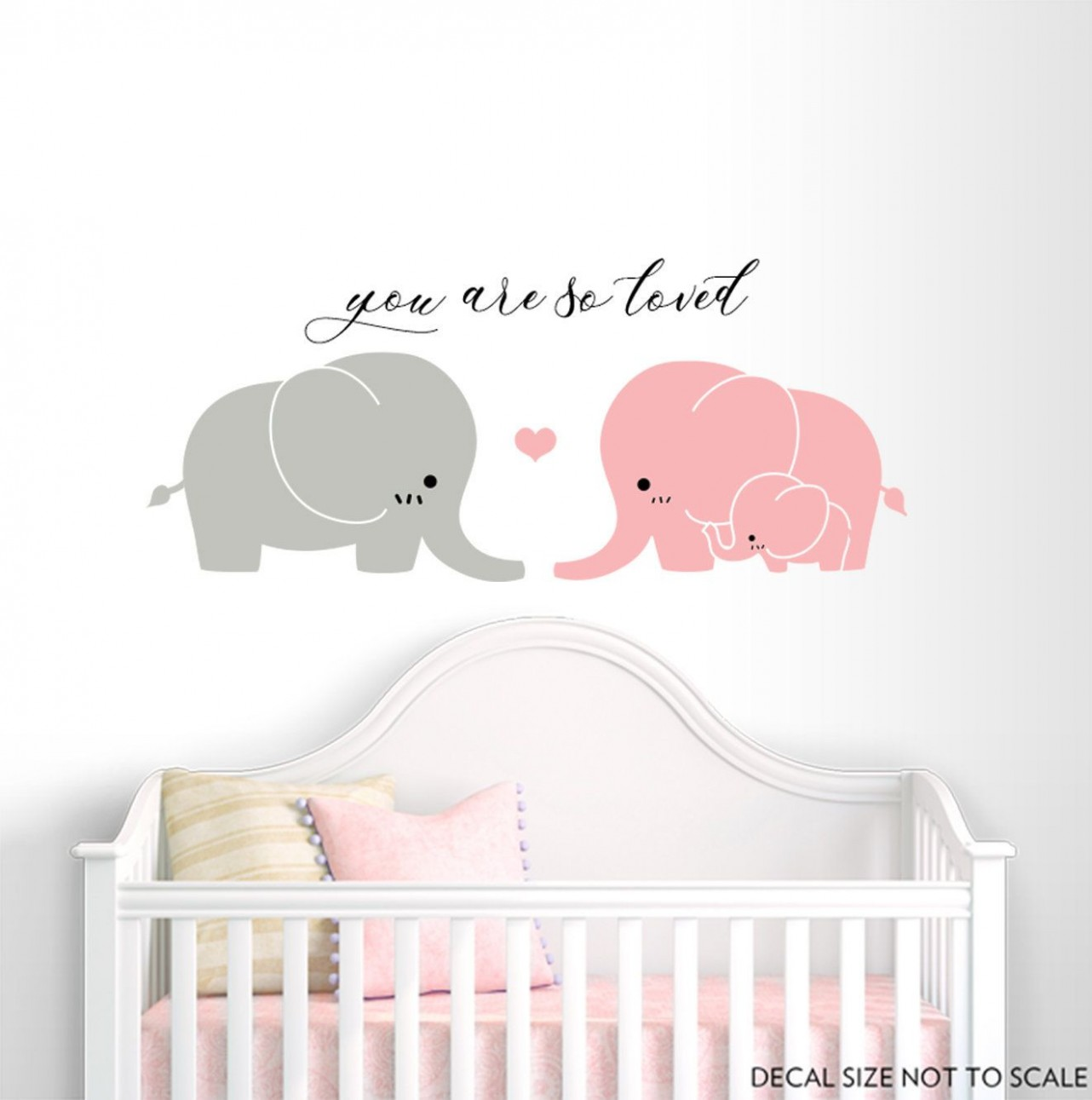 Elephant Wall Decal, Nursery wall decal, Kid room decor, Baby Room  - Baby Room Decals