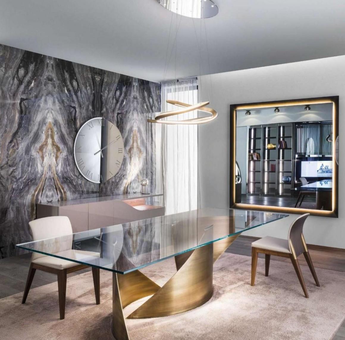 Elle Decor 10  Luxury dining room, Luxury dining tables, Luxury dining - Dining Room Ideas Glass Table